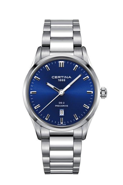 CERTINA DS-2 BLUE DIAL C024.410.11.041.20