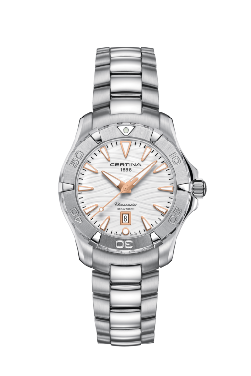 CERTINA DS ACTION LADY WHITE DIAL C032.251.11.011.01