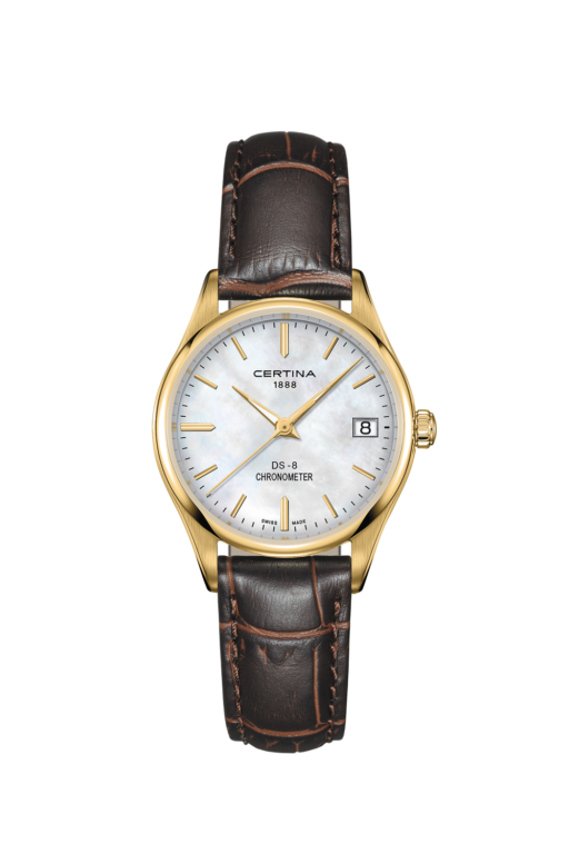 CERTINA DS-8 LADY COSC ROSE GOLD PVD C0332513611100