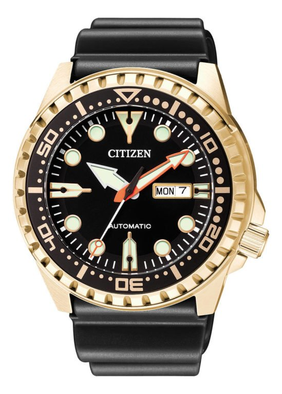 CITIZEN AUTOMATIC 100M NH8383-17EE