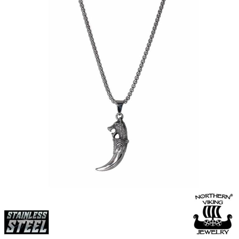 "Northern Viking Jewelry®-Riipus ""Fenrir Wolf Head"""