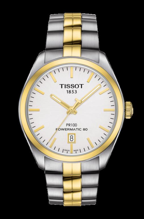 TISSOT PR100 POWERMATIC 80 T101.407.22.031.00