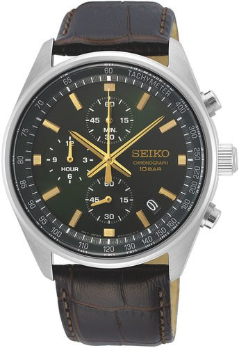 SEIKO ESSENTIAL TIME CHRONOGRAPH SSB385P1