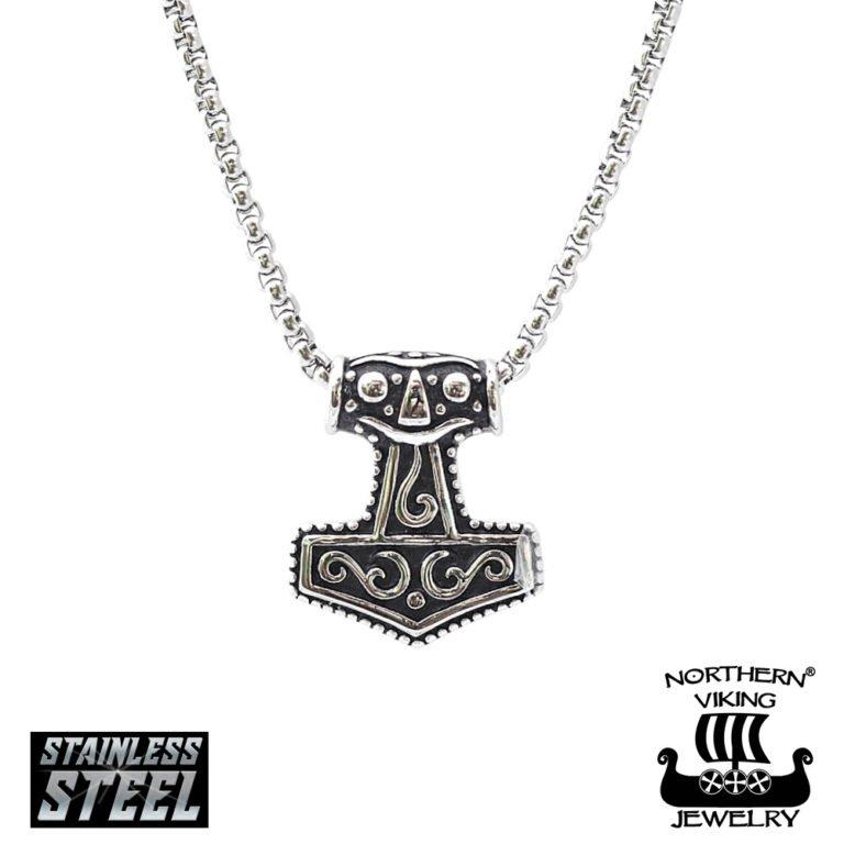 "Northern Viking Jewelry ""MJÖLNIR THORIN VASARA"" Kaulakoru"