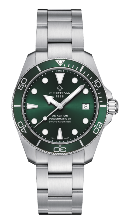 CERTINA DS ACTION DIVER 38 GREEN C032.807.11.091.00