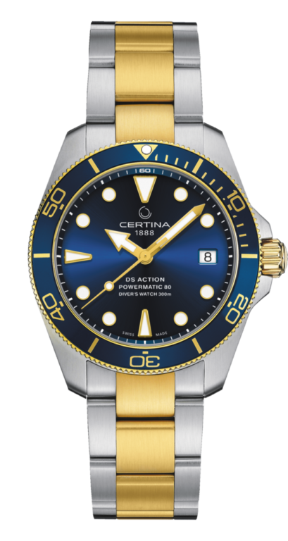 CERTINA DS ACTION DIVER 38 SEA TURTLE CONSERVANCY SPECIAL EDITION C032.807.22.041.10